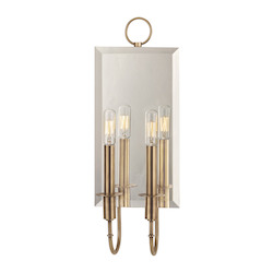 Aged Brass Essex 2 Light Wall Sconce