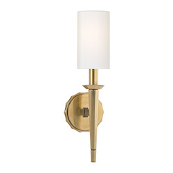 Aged Brass Tioga 1 Light Wall Sconce