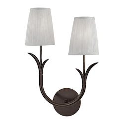 2 Light Right Wall Sconce