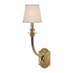 Aged Brass Alden 1 Light Wall Sconce