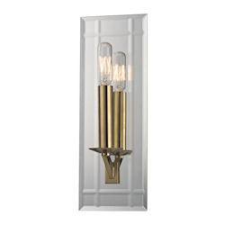Aged Brass Austin 1 Light Wall Sconce with Tungsten Filament Bulb