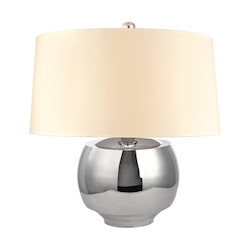 1 Light Small Table Lamp Wit