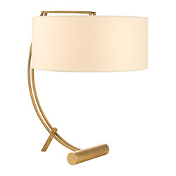 Aged Brass Deyo 2 Light Table Lamp