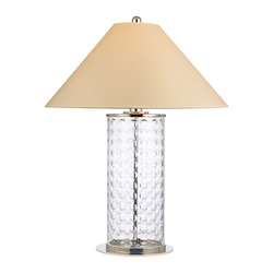 Polished Nickel Shelby 1 Light Table Lamp