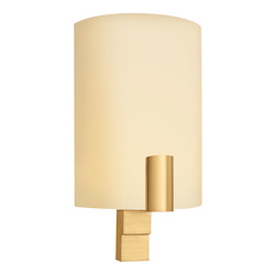 One Light Brass Wall Light