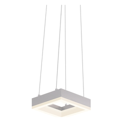 7In. Led Square Pendant