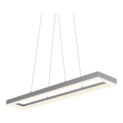 43In. Led Rectangle Pendant