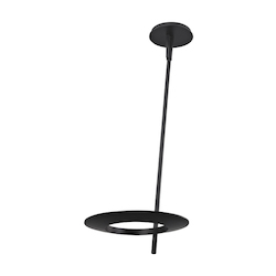 24In. Led Ceiling Torchiere