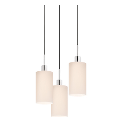 Cylinder 3-Light Pendant