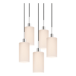 Cylinder 5-Light Pendant