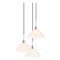 Cone 3-Light Pendant