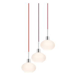 Demi Oval 3-Light Pendant