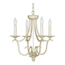 Winter Gold 4 Light 18in. Wide Chandelier from the Bailey Collection