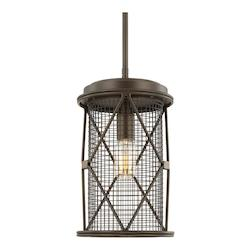 Oil Rubbed Bronze Jackson 1 Light Mini Pendant