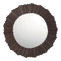 Burnished Bronze Mirrors 29.5in. Diameter Circular Mirror