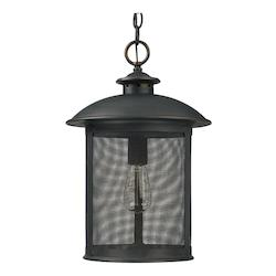 Old Bronze The Dylan Collection 1 Light Outdoor Full Sized Pendant
