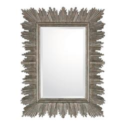 Rustic 40in. x 31in. Rectangular Mirror from the Mirrors Collection