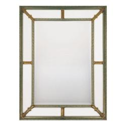 Antiqued Silver And Gold With Beveled Mirrors