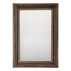 Antiqued Brown With Beveled Mirror