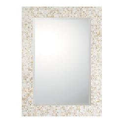 Tiled Umber Mirror Collection 44In. Rectangular Mirror