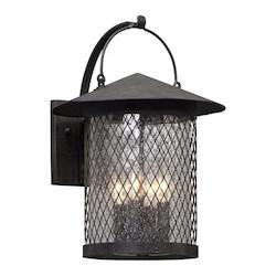 4Lt Wall Lantern Large