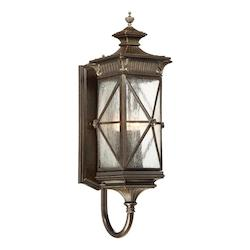 Rue Vieille 5 Light Wall Mount