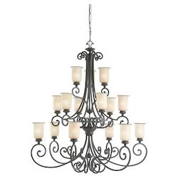 ENERGY STAR Fifteen-Light Acadia Chandelier