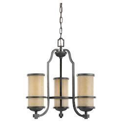 Three Light Roslyn Chandelier