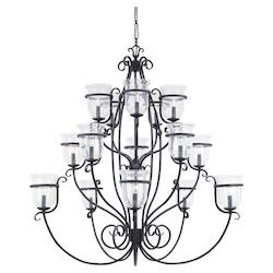 Fifteen-Light Manor House Chandelier