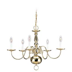 Five-Light Traditional Chandelier