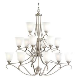 15-Light Fluorescent Chandelier