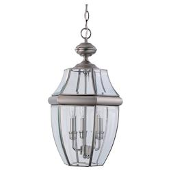 Three-Light Lancaster Outdoor Pendant