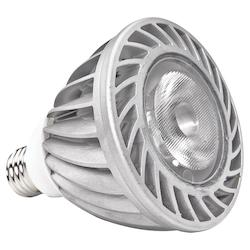 15W LED Medium Base PAR30L in 4000K with 40 Degree Beam