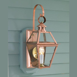 Old Colony Copper Wall Light