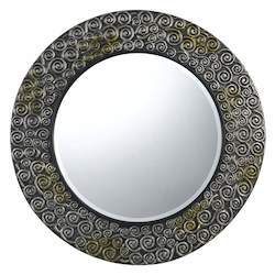 Dapple Salisbury Circle Beveled Mirror