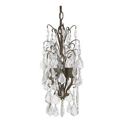 Russet 4 Light 9.5in. Wide Chandelier form the Axis Collection