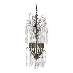 Russet 6 Light 12in. Wide Chandelier form the Axis Collection