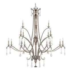 Mystic The Montclaire Collection 16 Light 2 Tier Candle Style Chandelier