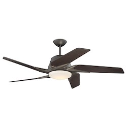 54In. Ceiling Fan With Blades And Light Kit