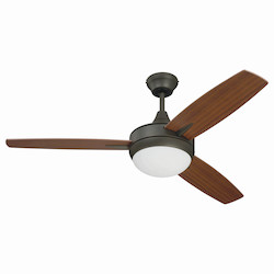 48In. Ceiling Fan With Blades And Light Kit