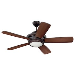 44In. Ceiling Fan With Blades And Light Kit