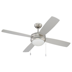 52In. Ceiling Fan With Blades And Light Kit