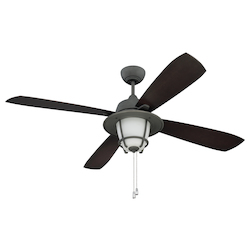 56In. Ceiling Fan With Blades And Light Kit