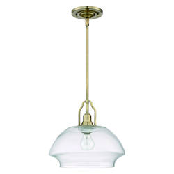 1 Light Mini Pendant With Rods