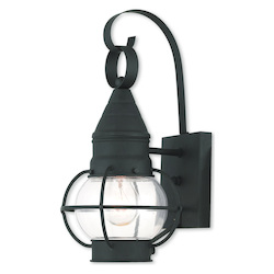 Newburyport Black Wall Lantern