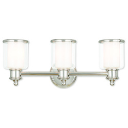 Middlebush Polished Nickel Bath Vanity