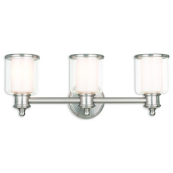 Middlebush Brushed Nickel Bath Vanity