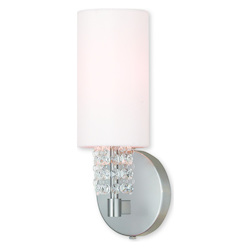 Carlisle Brushed Nickel Ada Wall Sconce