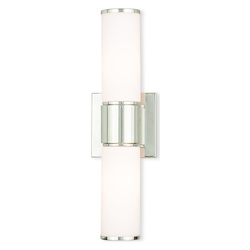 Weston Polished Nickel Ada Wall Sconce/ Bath Vanity