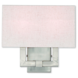 Meridian Brushed Nickel Ada Wall Sconce